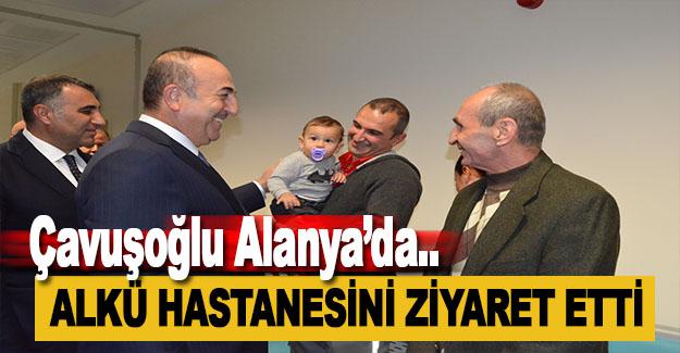 Mevlüt Çavuşoğlu Alanya'da!