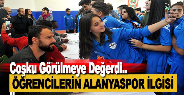 Mevlüt Çavuşoğlu Spor Lisesi'nde Alanyaspor Coşkusu