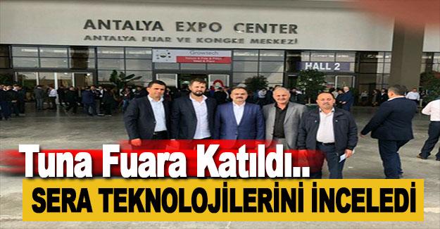 Mustafa Tuna, Sera Teknolojileri Fuarı'na Katıldı