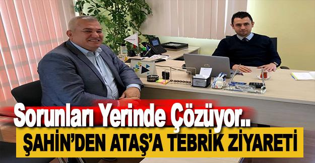 Şahin'den Alanya Telekom Müdürüne Ziyaret