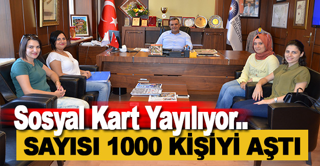 Sosyal Kart Sahibi 1000 Kişiyi Aştı