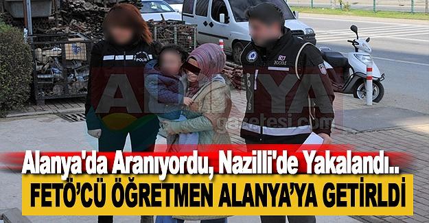 Alanya'da Aranıyordu, Nazilli'de Yakalandı