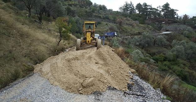 Alanya'da Kapanan Yollar Açılıyor