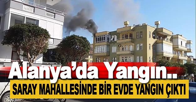 Alanya'da Yangın