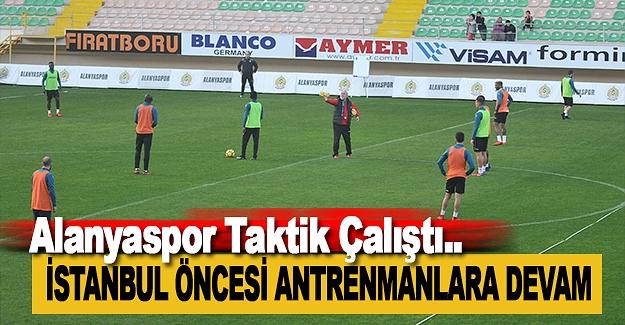 Alanyaspor, Kasımpaşa Taktiğini Çalıştı