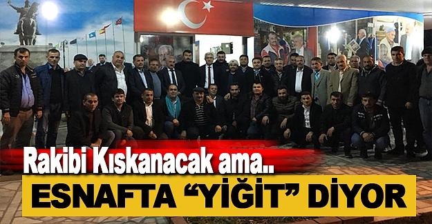 Yiğit'i Başkanlar Yakın Markaja Aldı