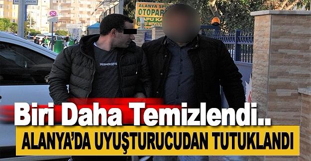 Alanya'da Uyuşturucudan 1 Kişi Tutuklandı