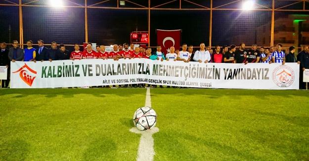 Alanya'da Kurumlar Arası Futbol Turnuvası Başladı