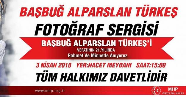 Mustafa Türkdoğan'dan Başbuğ Alparslan Türkeş Fotoğraf sergisine DAVET