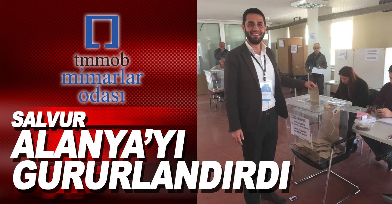 Serkan SALVUR Ankara'da Alanya'yı gururlandırdı