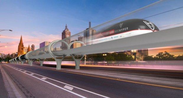 240 Km Hıza Ulaşan Hyperloop'un Bilet Fiyatı 1 Dolar Olacak
