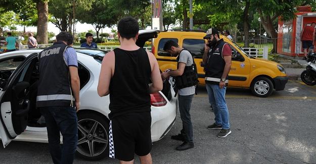 Polis Alanya'yı didik didik aradı