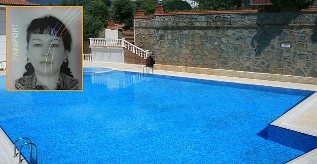 Alanya'da kadın turist havuzda boğuldu