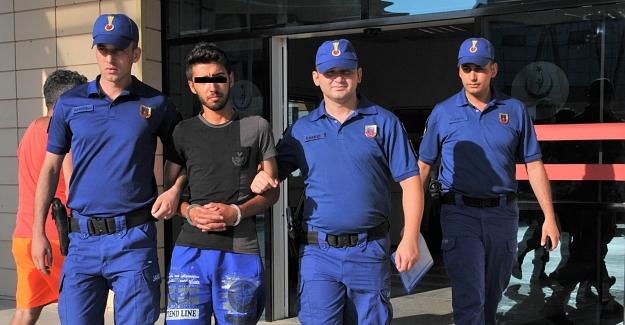 Alanya'da Suriyeli Tutuklandı