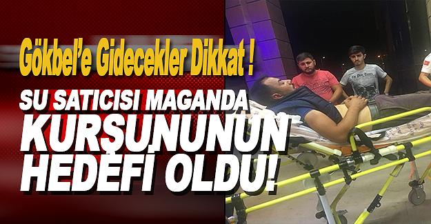 Alanya Gökbel'de Maganda Kurşunu ile Yaralandı