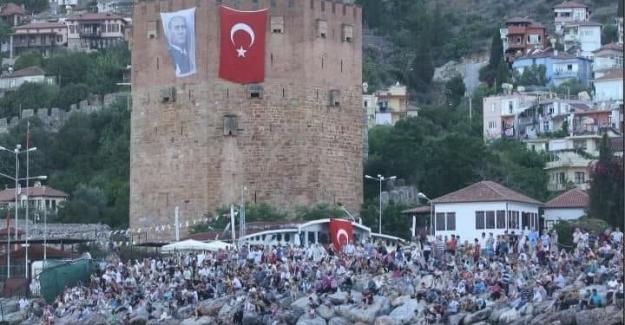 Alanya'da kabotaj bayramı kutlanıyor