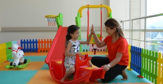 Çocuklar artık hem eğlenecek hem de tedavi olabilecekler