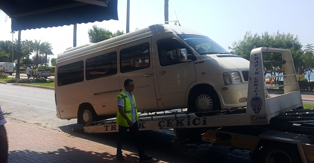 Kaçak Tur Yapan Araçlar Bağlandı