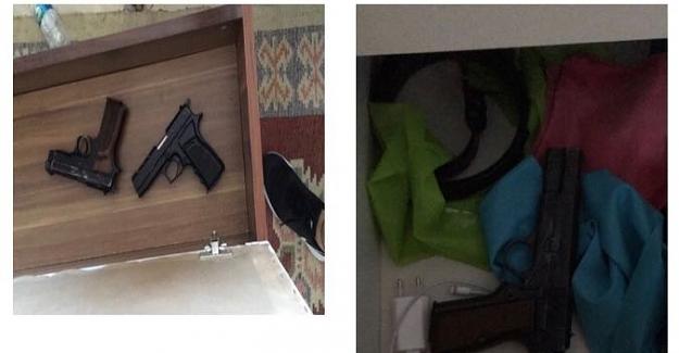 Alanya'da Silahlı suç örgütüne şafak operasyonu 8 kişi yakalandı