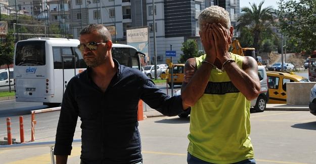İskelede yakalanan torbacı tutuklandı