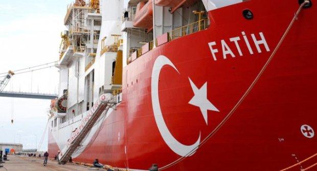 Türkiye'nin İlk Sondaj Gemisi Fatih İlk Seferine Çıkıyor