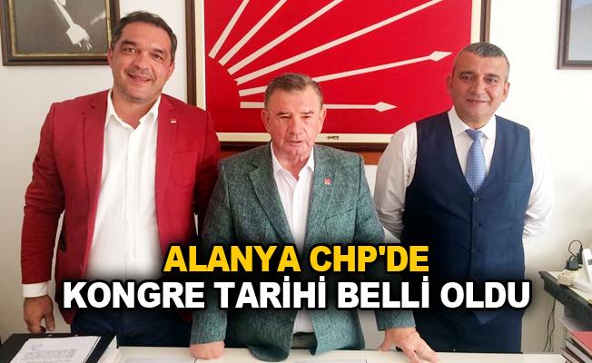Alanya CHP'de kongre tarihi belli oldu