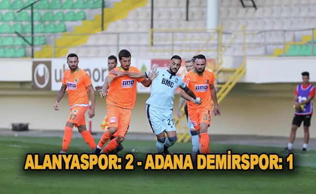 Alanyaspor - Adana Demirspor maç sonucu: 2-1