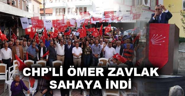 CHP'li Ömer Zavlak sahaya indi