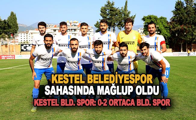 Kestel Belediyespor sahasında mağlup oldu 0-2