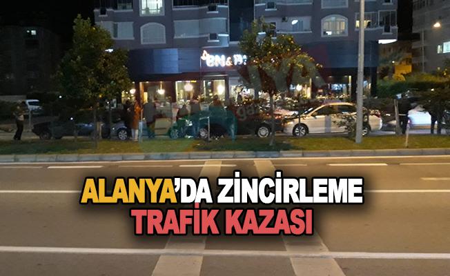Son Dakika! Alanya'da zincirleme trafik kazası