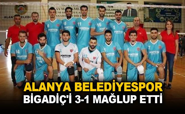 Alanya Belediyespor Bigadiç'i 3-1 mağlup etti