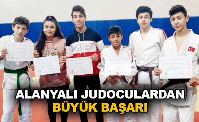 Alanyalı judoculardan büyük başarı