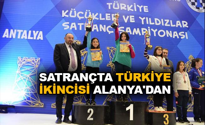 Satrançta Türkiye ikincisi Alanya'dan