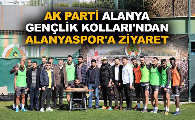 Ak Parti Alanya Gençlik Kolları'ndan Alanyaspor'a ziyaret