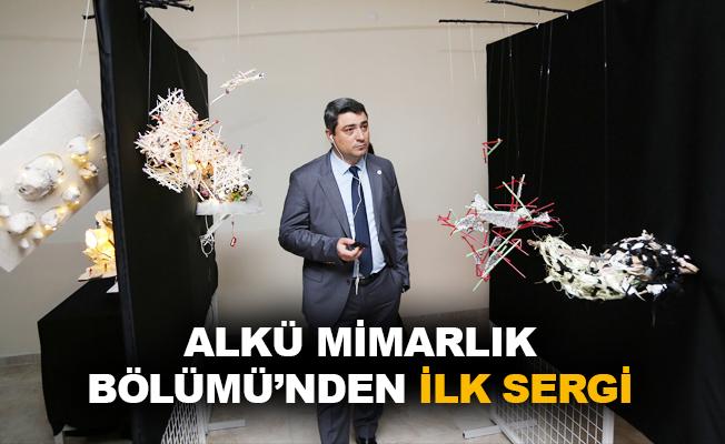 ALKÜ Mimarlık Bölümü'nden ilk sergi