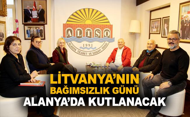 Litvanya'nın Bağımsızlık Günü Alanya'da kutlanacak