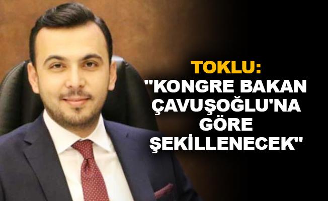 """Toklu: """"Kongre Bakan Çavuşoğlu'na göre şekillenecek"""""""