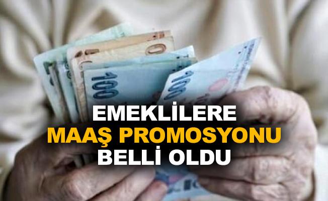 Emeklilere maaş promosyonu belli oldu