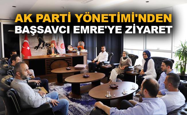 Ak Parti Yönetimi'nden Başsavcı Emre'ye ziyaret
