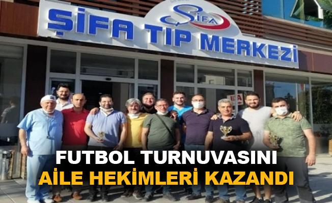 Futbol turnuvasını aile hekimleri kazandı