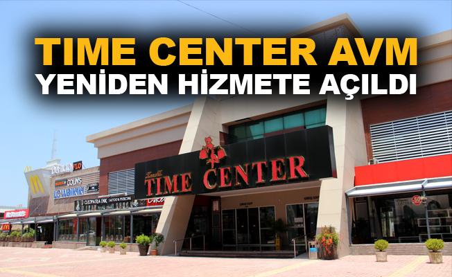 Time Center AVM yeniden hizmete açıldı