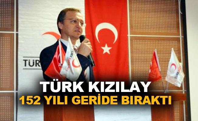 Türk Kızılay 152 yılı geride bıraktı