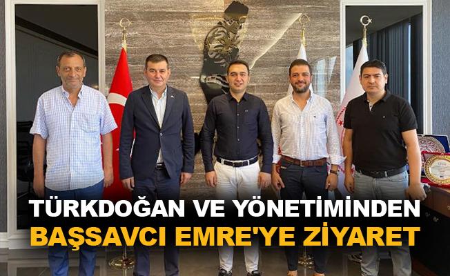 Türkdoğan ve yönetiminden Başsavcı Emre'ye ziyaret