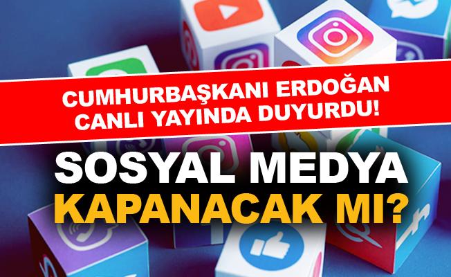 Sosyal Medya kapanacak mı?