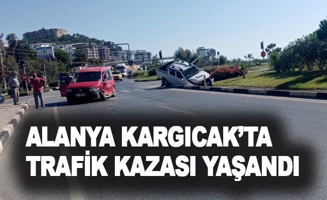 Alanya Kargıcak'ta trafik kazası yaşandı