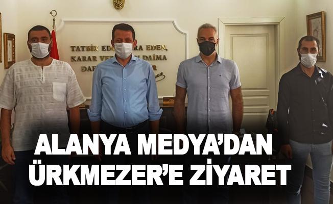 Alanya Medya'dan Ürkmezer'e ziyaret