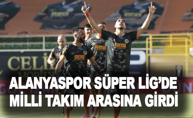 Alanyaspor, Süper Lig'de milli takım arasına girdi