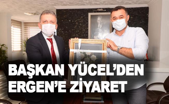 Başkan Yücel'den Ergen'e ziyaret