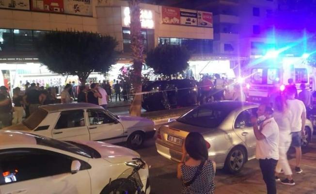 Mahmutlar'da korkutan kaza