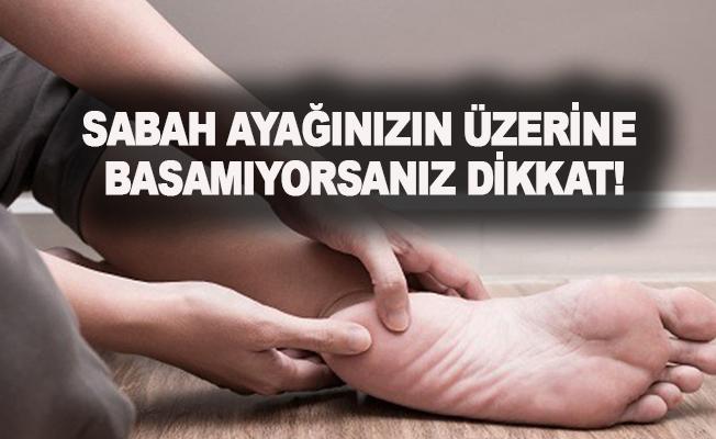 SABAH AYAĞINIZIN ÜZERİNE BASAMIYORSANIZ DİKKAT !